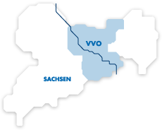 VVO Einzugsgebiet