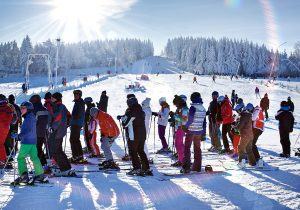 Wintersport in Altenberg, Foto Lars Neumann