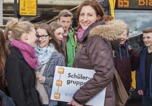 Mit dem neuen SchülergruppenTicket zum Schulausflug, Foto © Lars Neumann
