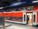 Die S 2 am Flughafen Dresden