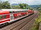 S-Bahn S1 bei Festung Königstein