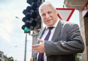 Andreas Hoppe, Leiter der DVB-Verkehrsplanung