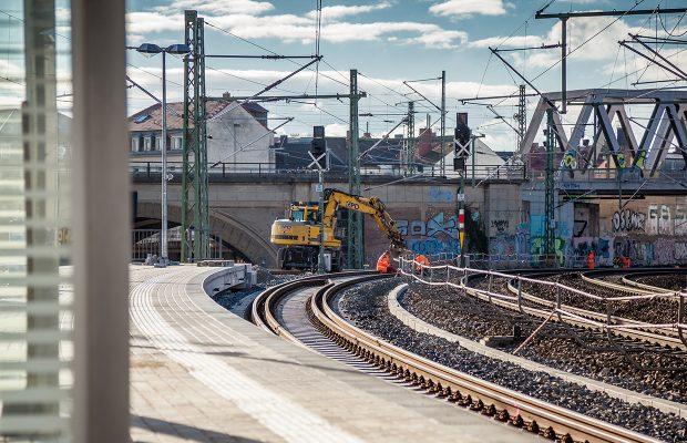Baustelle S-Bahnhof Bischofsplatz