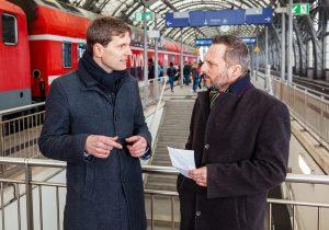 Gemeinsam sorgen VVO und DB Regio dafür, dass Züge rollen.