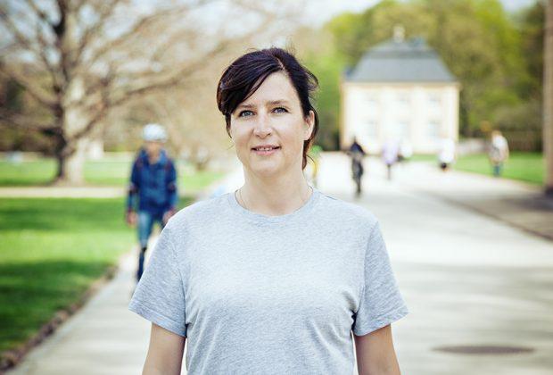 Katja Novotny, Verantwortliche im Marketing und Vertrieb bei der Sächsischen Dampfschiffahrt