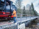 Mirko Froß, Eisenbahnbetriebsleiter bei der Sächsischen Dampfeisenbahngesellschaft (SDG)