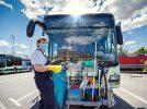 Reinigung eines RVSOE-Busses