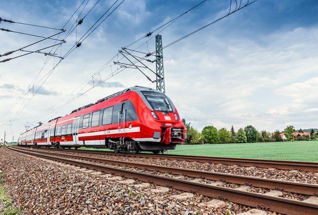 Auf der Strecke Leipzig - Dresden sind derzeit triebwagen vom Typ Talent 2 unterwegs.