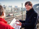 Stephan Naue, Leiter Produktmanagement Sachsen, steht Rede und Antwort