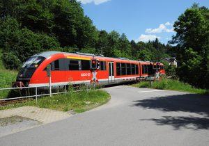 Nationalparkbahn U28 im Sebnitztal